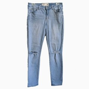 GARAGE | HIGH RISE DISTRESSED SKINNY JEANS